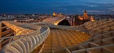 Top Design of  Parasol Metropol Architecture in Spain
