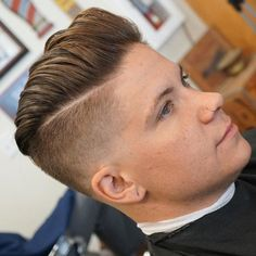 cutsbyerick high fade disconnected pomp