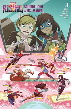 Marvel Rising: Squirrel Girl/Ms. Marvel (2018) #1 - Comics by comiXology