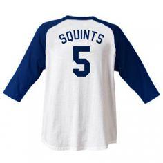 "Michael ""Squints"" Palledorous #5 SL Jersey T-Shirt ---- WENDY PEFERCORN!"