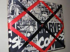 11 x 14 Marvel Comics Vintage look Superhero Memory Board