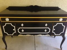 Hollywood Regency Buffet by Room4Junk on Etsy, $1195.00