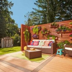Learn how to build a pergola in your backyard to shade a stone patio or deck. These pergola plans include wood beams and lattice set on precast columns. Diy Pergola, Building A Pergola, Wooden Pergola, Outdoor Pergola, Outdoor Decor, Pergola Ideas, Corner Pergola, Small Pergola, House Building