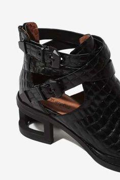 Jeffrey Campbell Sylvestr Leather Bootie