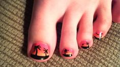 Looking for the best tropical toe art scenes.....Anyone have any ideas?