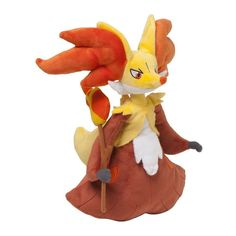 Pokemon Center Plush Doll Delphox Fennexis Goupelin.shopper bag With gifts #PokemonCenter