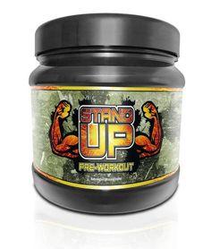 NF24 ARMY STAND UP - Pre-Workout Nahrungsergänzungsmittel, Koffeinhaltiges Instantgetränkepulver für aktive Menschen, wie Sportler zur Herstellung eines Getränks mit freien Aminosäuren, Kohlenhydraten, Vitaminen und Koffein. Mit...