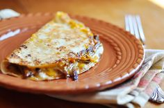 Crock pot venison quesadillas. I can't believe I'm pinning this, but something needs to be done with Brian's freezer full of venison & I'm willing to give it a try.