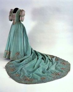 Court dress, early 20th century