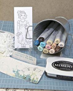 Copic Coloring Tutorial by Sherrie Siemens