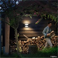 PHILIPS - Outdoor wall light 'Herb'