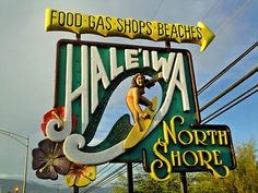 I love Hale'iwa on North Shore - of Oahu!! Great little eatery called the grass skirt is fab!!!
