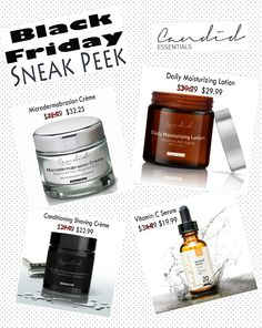Black Friday Sneak Peek!  Get yours while they last at www.candidessentials.com