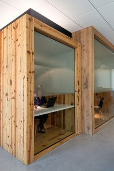 24 best office phone booths images in 2016 Best Office Design, Workplace Design, Office Interior Design, Interior Exterior, Interior Architecture, Open Office, Cool Office, Small Office, Corporate Interiors