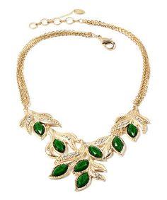 Look what I found on #zulily! Amrita Singh Evergreen Della Femina Necklace by Amrita Singh #zulilyfinds