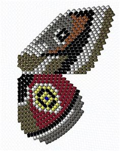 Theclinae royal (parallel weaving) and other schemes | biser.info - all about beads and beaded works