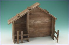 to build :) Nativity Stable, Nativity Creche, Nativity Ornaments, Nativity Sets, Christmas Pageant, Christmas Crafts, Christmas Decorations, Stage Management, Homemade Christmas