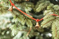 Christmas Brass Bells by ironaworks on Etsy, $19.50