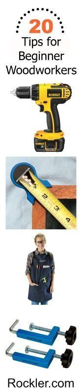 20+ Tips for Beginner Woodworkers. Rockler.com
