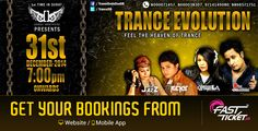 Transcending '14 yr with @Trance Evolution, Surat!   Grab your entry passes from Fastticket.in & prepare to witness the magic of Trance in the city of Surat, Gujarat.   #booknow: http://fastticket.in/event/event-registration-online/movie-wise/Surat/Trance-Evolution-The-Biggest-Trance-DJ