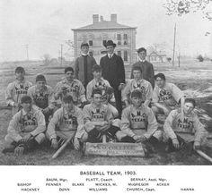 1903 Texas A&M Aggies - Baseball Team