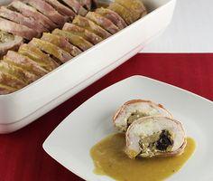 Pits de pollastre farcits de formatge de cabra i endívies #thermomix