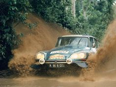 Citroen DS21 Muddy Rallye