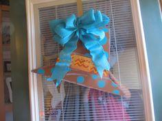 Pilgrim hat doorhanger