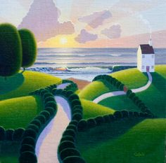 Paul Corfield Studio Work: 13 new paintings.........and it's about time :-)