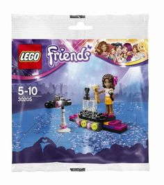 LEGO Friends 30205 Andrea's Pop Star Red Carpet Stage!! New/Sealed!! 33pcs ~HTF  #LEGO