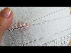 Дуже декоративний, багатоваріантний шов, широко поширений на усій території України. Застосовується як самостійний або оздоблювальний елемент Drawn Thread, Thread Work, Hardanger Embroidery, Hand Embroidery, Embroidery Techniques, Needlepoint, Hand Sewing, Stitch Patterns, Diy And Crafts