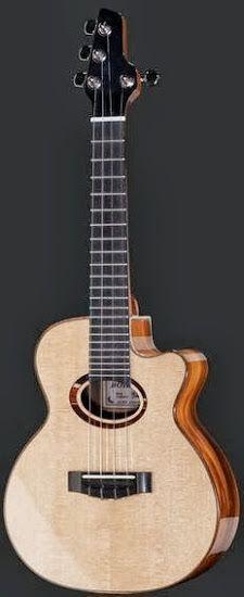 Thomann Bohemia Tenor #LardysUkuleleOfTheDay ~ https://www.pinterest.com/lardyfatboy/lardys-ukulele-of-the-day/ ~