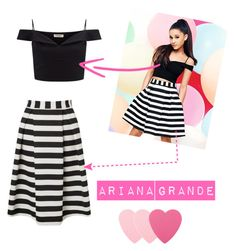 """Ariana Grande"" by nazar-erginyavuz on Polyvore featuring moda, Lipsy ve Sephora Collection"