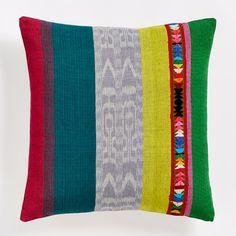 Prismatic Colorblock Pillow Cover