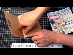 Stamping to Share: My Paper Pumpkin Kit - January 2014, How To Video, Stampin' Up!, Kay Kalthoff