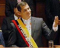 Rafael Correa – no E cu a dor é maior ?
