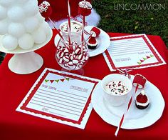 Letters to Santa Party with free printable for your own party