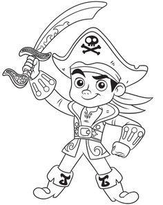 jake und die nimmerland piraten ausmalbilder kostenlos