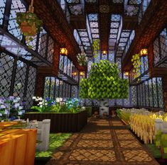 Awesome Greenhouse Awesome Greenhouse, - Explore the best and the special ideas about Lego Minecraft Minecraft Farmen, Villa Minecraft, Minecraft Building Guide, Minecraft Structures, Minecraft Medieval, Amazing Minecraft, Minecraft Construction, Minecraft Survival, Minecraft Blueprints