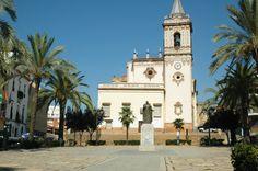 Iglesia de San Pedro. / Imagen cedida por: Oficina de Turismo de Huelva