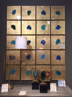 A #HATtag for this enchanting agate-inspired wall art from Revelation by @uttermostco. #hpmkt