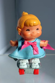 Vintage Small Shots Doll Mattel Hot Wheels - one of my favorite toys as a little girl