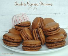 I hope you guys had a wonderful memorial day weekend. Summer is officially here and it is time to fire up the grill, bake pies and eat frozen desserts. However, I'm starting my summer with some macarons! Chocolate espresso macarons. I am in love with these tiny cookies and I can tell our relationship is …