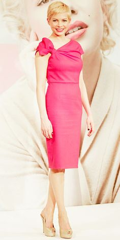 Valentino dress. I just might as well admit that I love girly and pink.