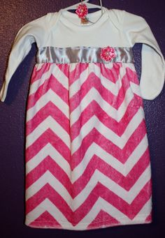 Hey, I found this really awesome Etsy listing at https://www.etsy.com/listing/159943334/minky-chevron-onesie-sack-gown-for-baby