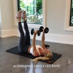 Killer ab workout routine with weights for a flat stomach and toned abs. Fitness Workouts, Gym Workout Videos, Abs Workout Routines, Fitness Workout For Women, Sport Fitness, Fitness Tips, Body Fitness, 15 Min Workout, Fitness Motivation