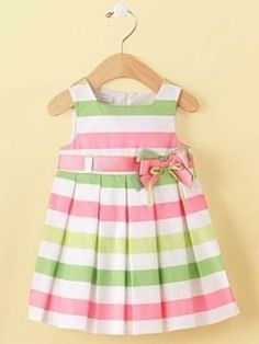 First Impressions Baby Dress, Baby Girls Bold Stripe Dress Newborn Girl Outfits, Little Girl Outfits, Little Girl Fashion, Little Dresses, Little Girl Dresses, Kids Outfits, Kids Fashion, Cute Outfits, Girls Dresses