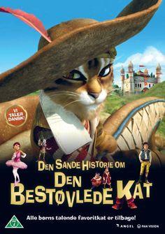 den sande historie om den bestøvlede kat - DVD