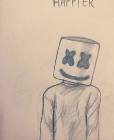 I want you to be happier Marshmello marshmello sketchbook sketching edm happier sketchpractice practice artbeginner learn - pencil-drawings Girl Drawing Sketches, Easy Pencil Drawings, Girly Drawings, Art Drawings Sketches Simple, Cartoon Drawings, Drawing Ideas, Disney Drawings Sketches, Pencil Drawing Tutorials, Drawing Poses