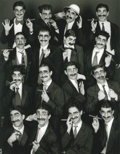 Groucho Marx look-alike contest.